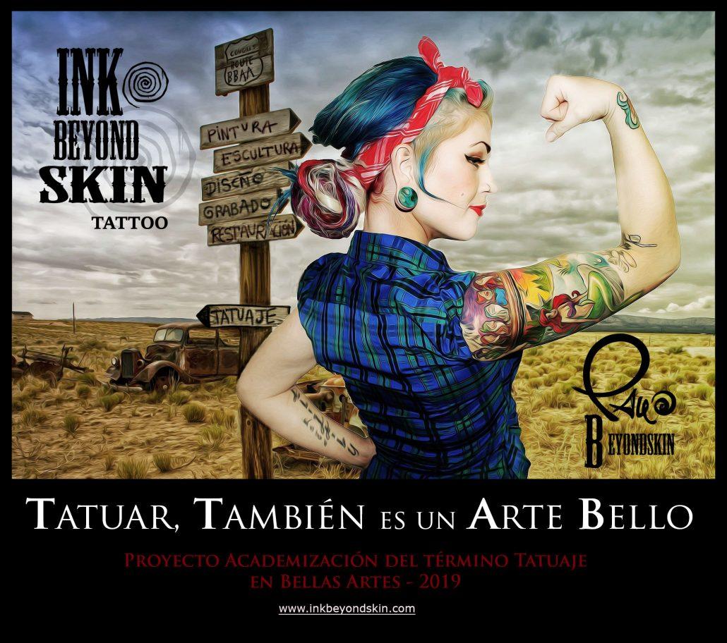 Universidad Complutense de Madrid Tatuaje Inkbeyondskin